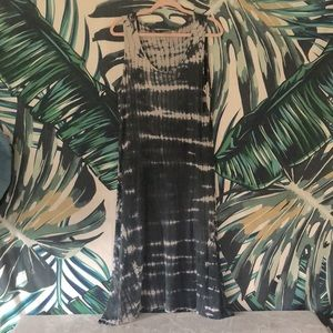 EARTHBOUND Tie-Die Maxi Dress